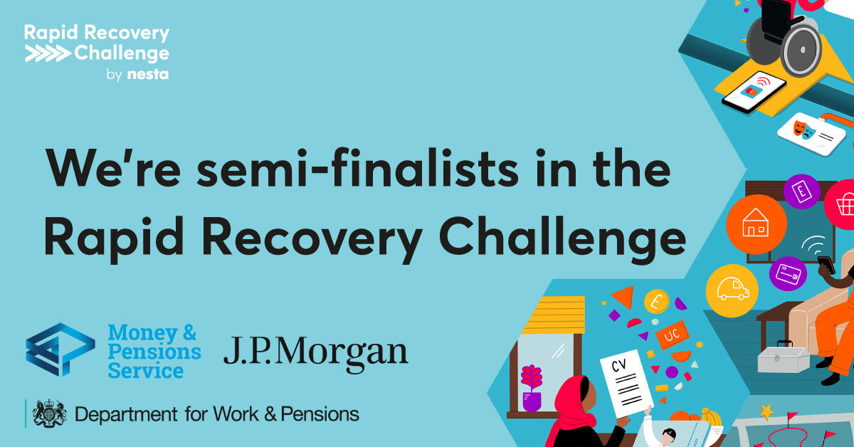 We're semi-finalists in the Rapid Recovery Challenge